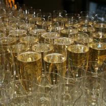 Champagne Reception photo